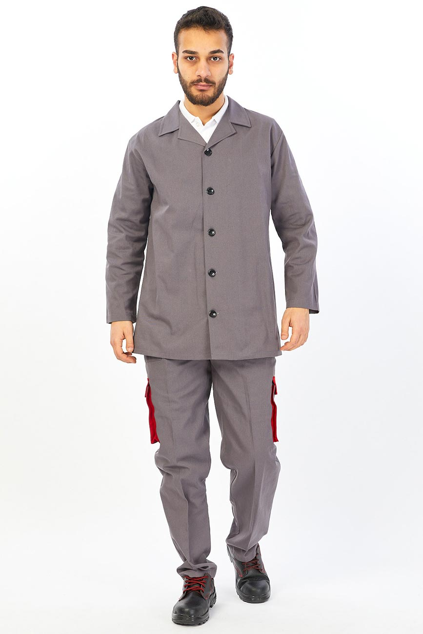 Men's Military Style Winter Cargo Jacket and Pants Set