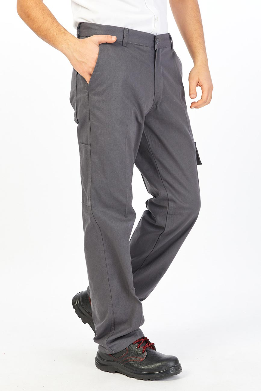 Men's Relaxed Straight-Fit Cargo Work Pants